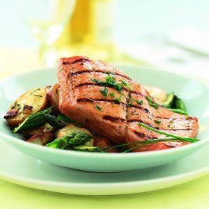 200106 Salmon Bacon Hash