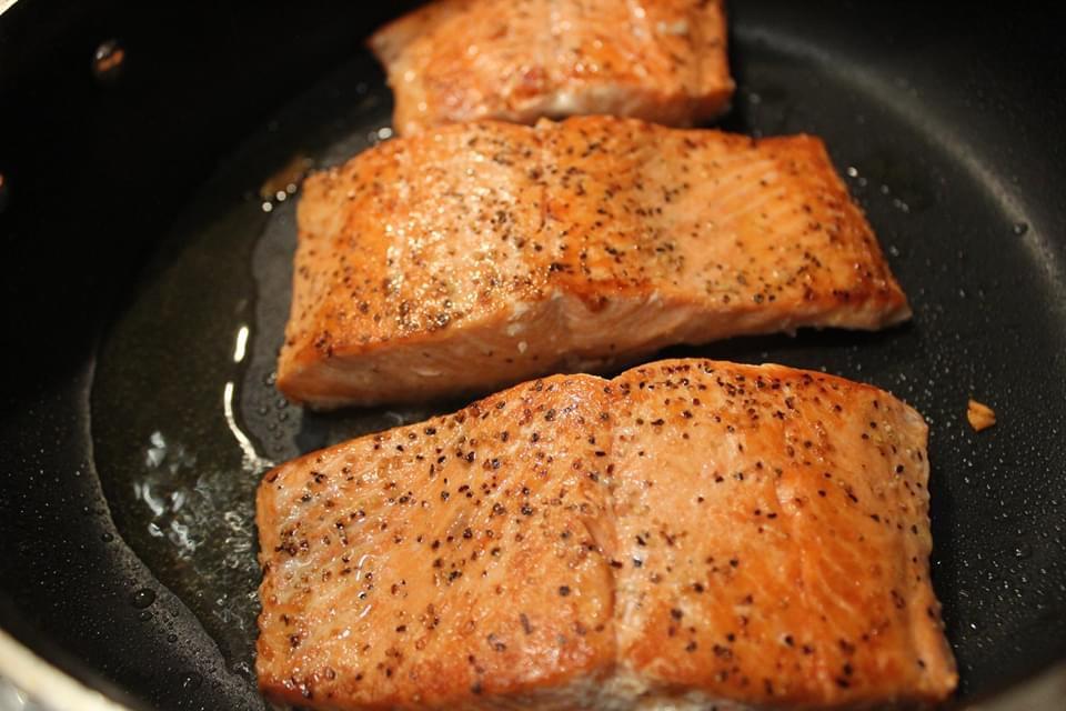 How to Pan Sear Alaskan Salmon