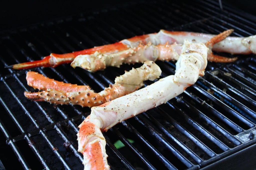 How to Grill Crab