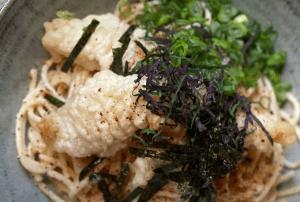 tempura fried pollock pasta